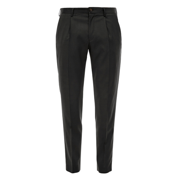 Slim: Hose aus Schurwollmix - Anzughose