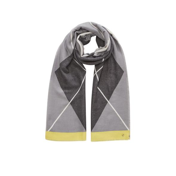Softer Webschal mit Muster - Schal