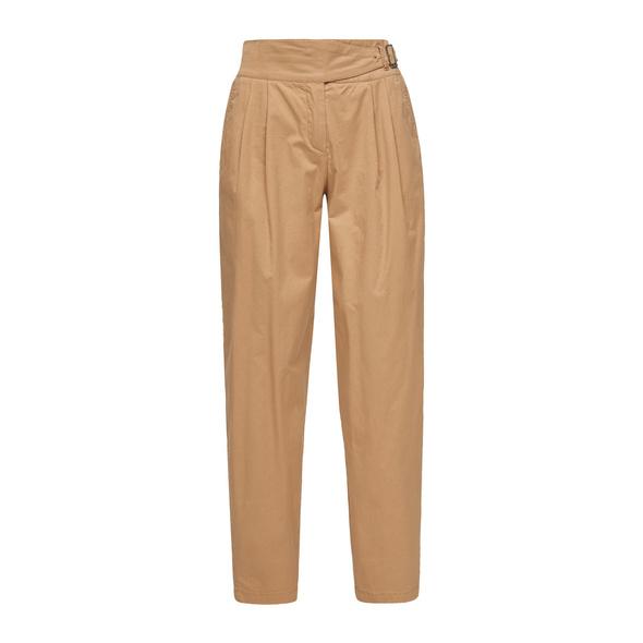 Regular Fit: Verkürzte Bundfaltenhose - Hose
