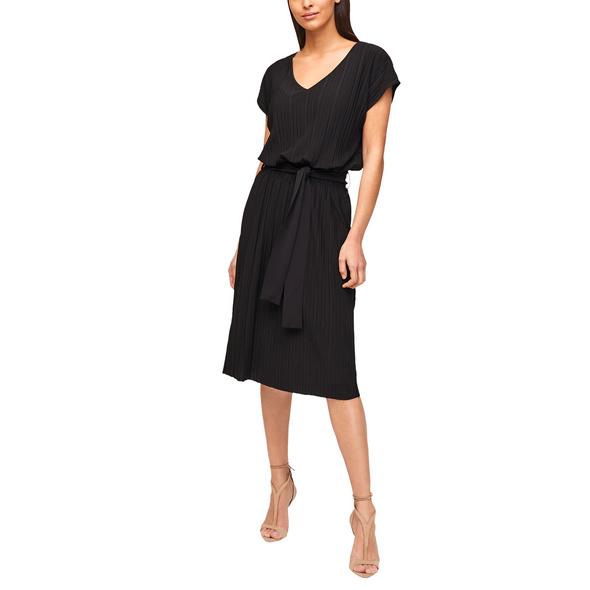 Kleid mit Plisseefalten - Kleid