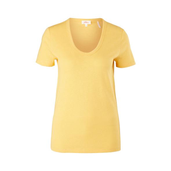T-Shirt aus Leinenmix - T-Shirt