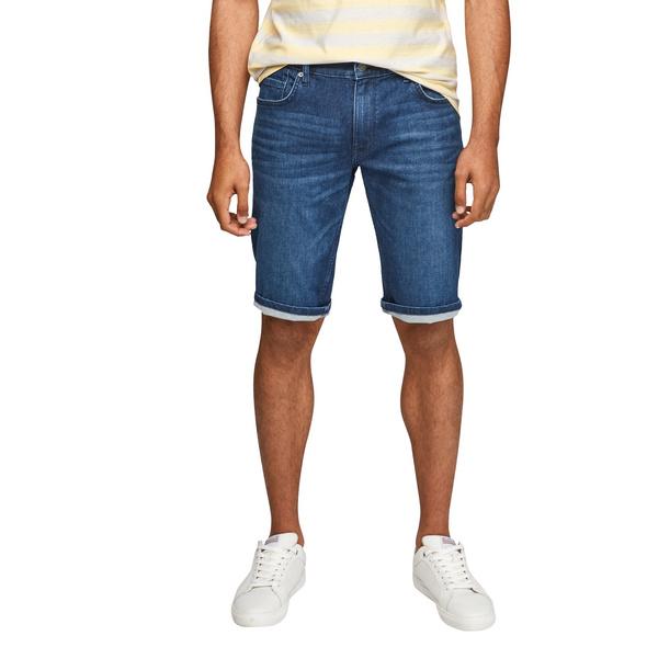 Regular: Bermuda aus Denim - Jeansbermuda
