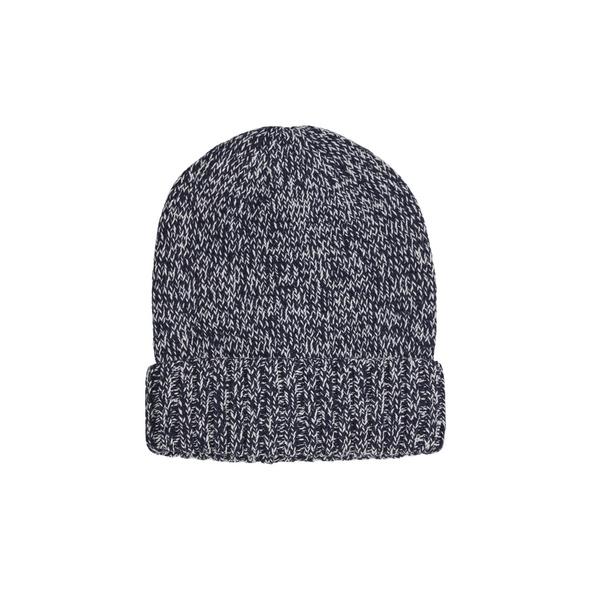 Mütze aus meliertem Baumwollmix - Mütze