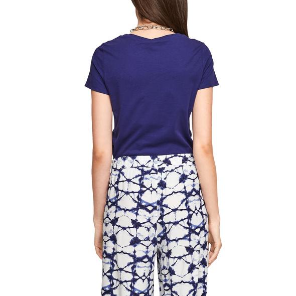 Jerseyshirt mit Quallenprint - Baumwollshirt