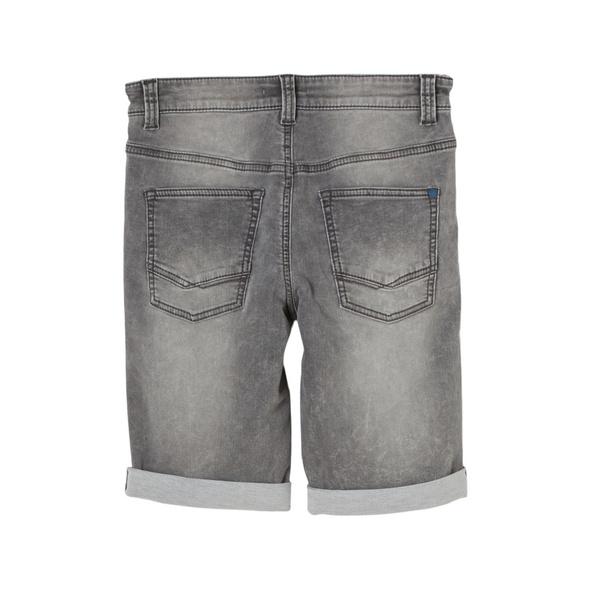 Slim Fit: Bermuda-Jeans - Denim-Bermuda
