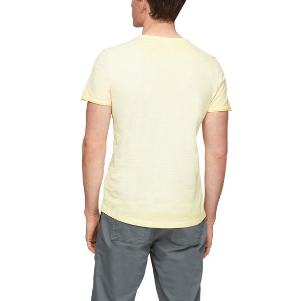 Flammgarnshirt mit Waschung - Jerseyshirt