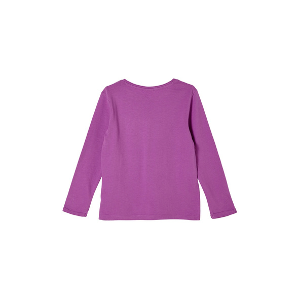 Jerseyshirt mit Pailletten-Details - Langarmshirt