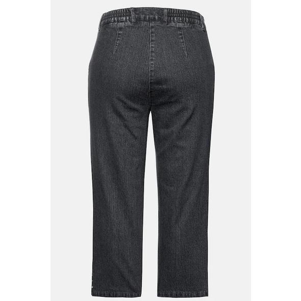 Jeans Mony, wadenlang, leicht konisch zulaufend