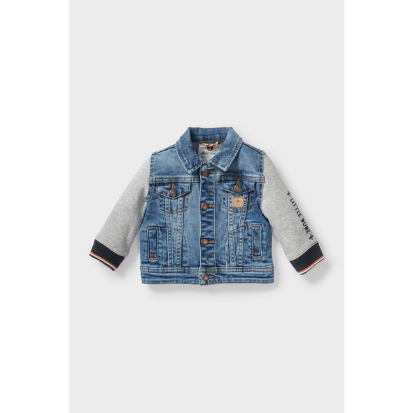 Baby-Jeansjacke - 2-in-1-Look