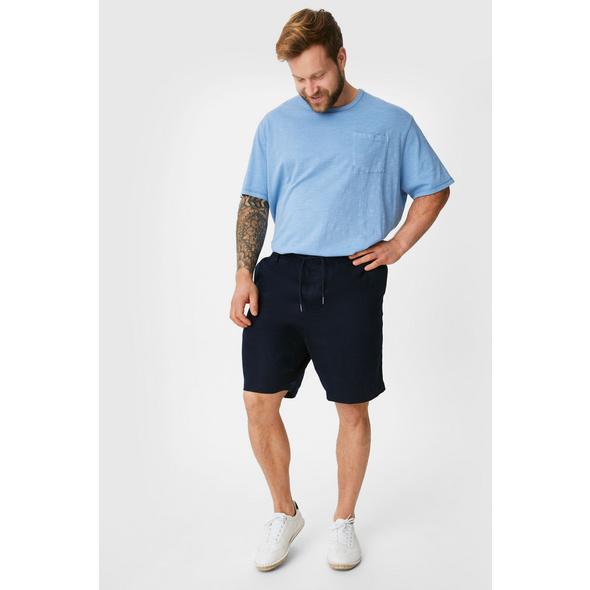 Leinen-Shorts