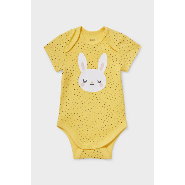 Baby-Body - Bio-Baumwolle - gepunktet