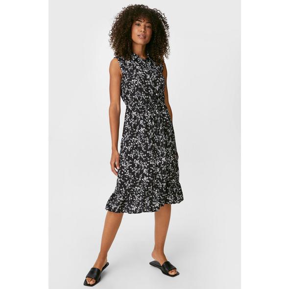 Fit & Flare Kleid - geblümt