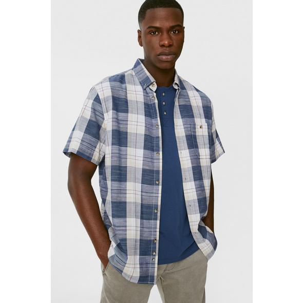 Hemd und T-Shirt - Regular Fit - Button-down - Bio-Baumwolle