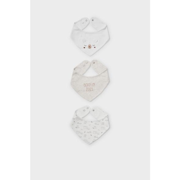 Multipack 3er - Baby-Dreieckstuch