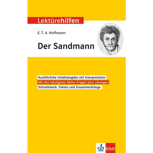 Lektürehilfen E.T.A. Hoffmann 'Der Sandmann'