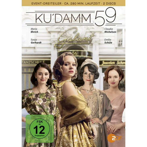 Ku'damm 59  [2 DVDs]