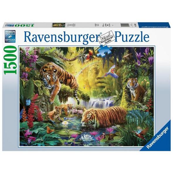 Ravensburger 16005 - Idylle am Wasserloch, Puzzle,