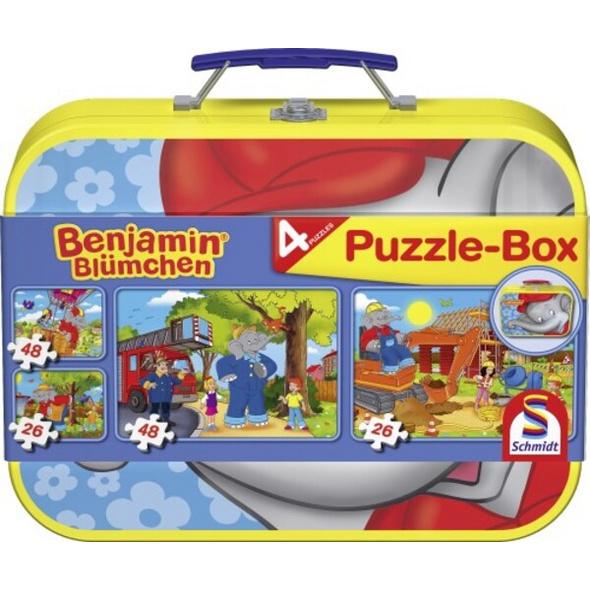 Benjamin Blümchen: Puzzle-Box