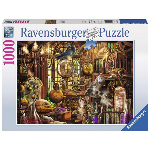 Ravensburger 19834 - Merlins Labor, Puzzle,