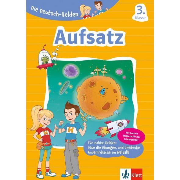 Klett Die Deutsch-Helden Aufsatz 3. Klasse