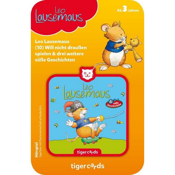 Tigercard - Leo Lausemaus - Geht auf Schatzsuche und 3 weitere süße Geschichten
