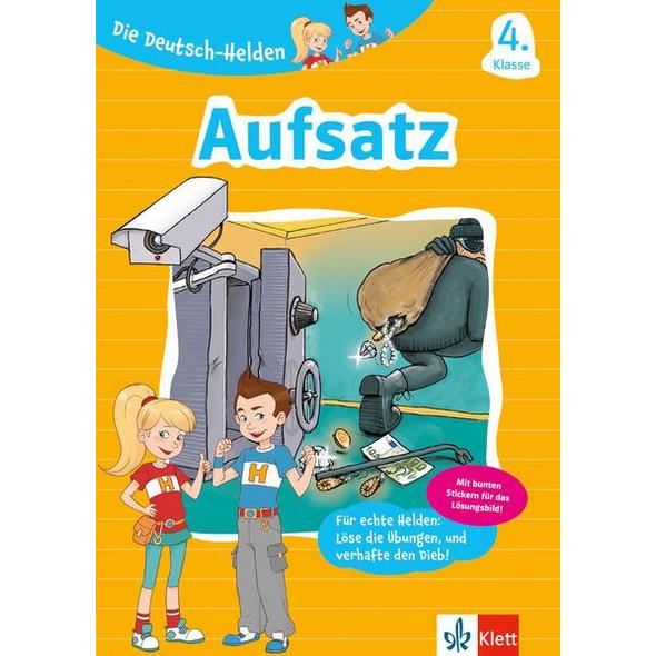 Klett Die Deutsch-Helden Aufsatz 4. Klasse