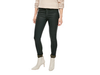 Skinny Fit: Coated Skinny Leg-Denim - Jeans