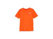 T-Shirt mit Logo-Print-Detail - Baumwollshirt