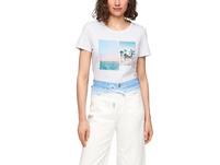 T-Shirt mit sommerlichem Druck - T-Shirt