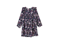 Leichtes Volantkleid aus Viskose - Kleid kurz