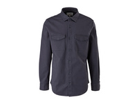 Slim: Overshirt aus Twill - Hemdjacke