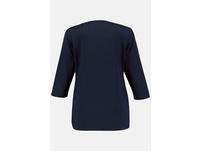 Shirt, Slim, doppelte Stofflage, Crêpe, selection